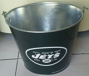 NFL-NEW-YORK-JETS-ICE-BUCKET-23cm-Diameter-Party-Drink-BEER-Bottle-Holder-Pail