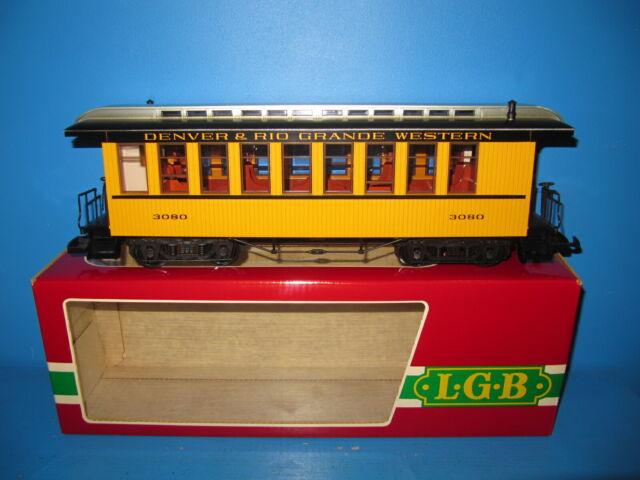 LGB Spur G US Personenwagen Denver & Rio Grande Western No 3080 TOP in OVP #2351