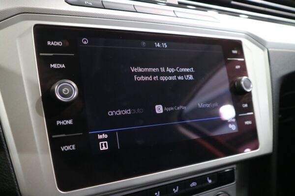 VW Passat 1,4 TSi 150 Comfortline Premium Variant DSG billede 8