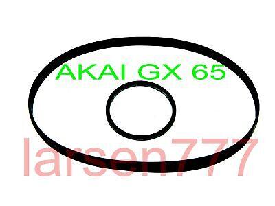 Riemenset für AKAI GX 67 GX 65**NEU**Peese** DX 57 GX 69