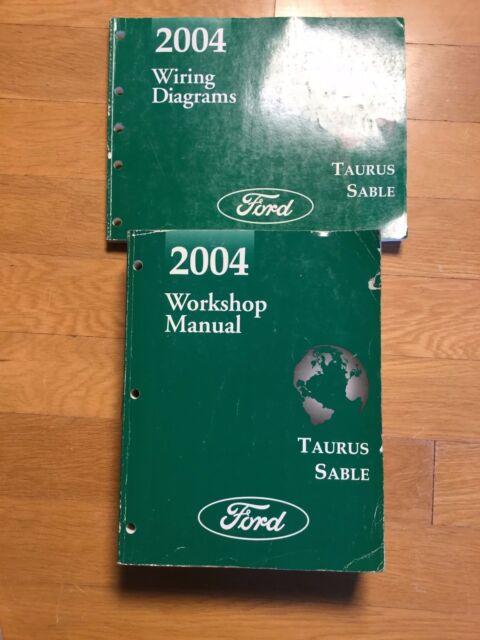 2004 Taurus Sable Workshop Repair Manual With Wiring