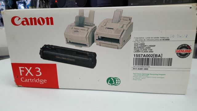 Canon FX3 Black Toner Cartridge L300 L400 L4000 1557A002BA New Black Toner Cartr