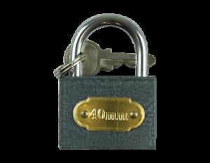 PADLOCK-40mm-Heavy-Duty-Cast-Iron-Outdoor-Safety-Security-Shackle-Lock-2-Key-Set