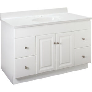 bath cabinets white bathroom vanity cabinet 48 inches wide x 21 inches 10970