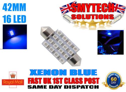 FORD TRANSIT MK 6 16 SMD LED Interior Light Bright Error Free XENON BLUE