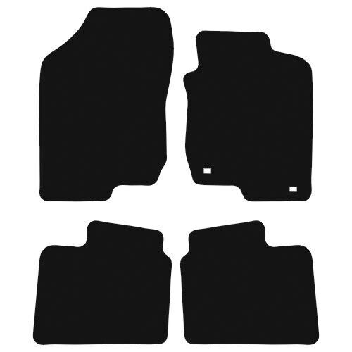KIA Magentis 2001-2005 Tailored Black Carpet Car Floor Mats Set 4 Made 2 Order