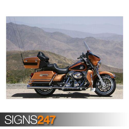 AC515 HARLEY DAVIDSON MOTORCYCLE 7 Poster Print Art A0 A1 A2 A3 BIKE POSTER