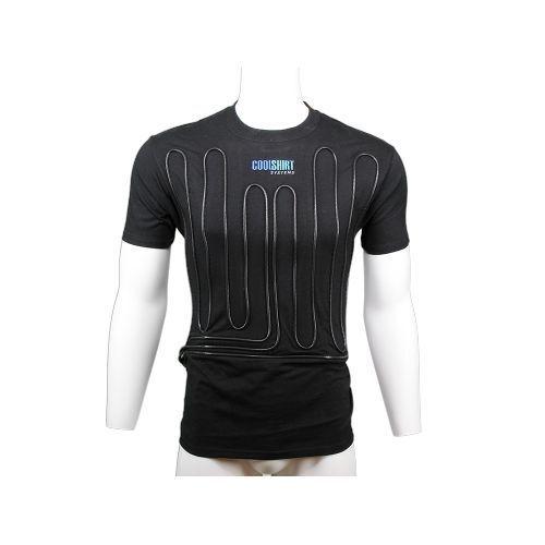 Large CoolShirt System 1012-2042 Black Cool Water Shirt