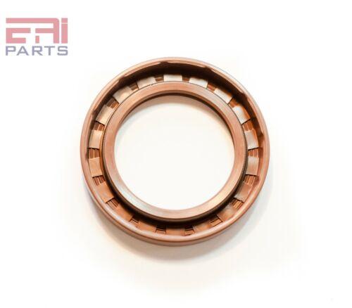 Viton Coated Metal Case Oil Seal 45X75X8mm TC EAI Double Lip w// Spring