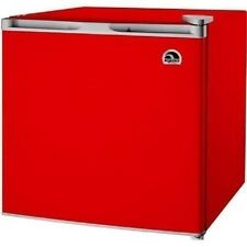 Mini Refrigerator with Freezer Small Dorm Fridge Igloo 1.6 cu ft Compact Red