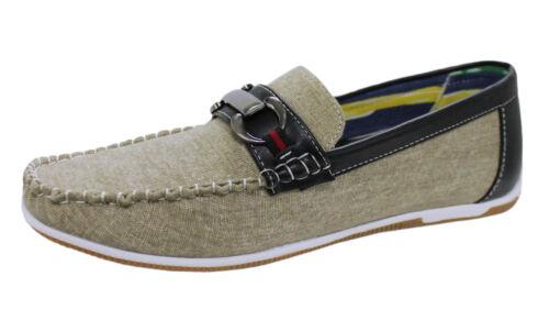 Shoes Moccasins Man Artisan Beige Model Casual Footwear Shoes Summer