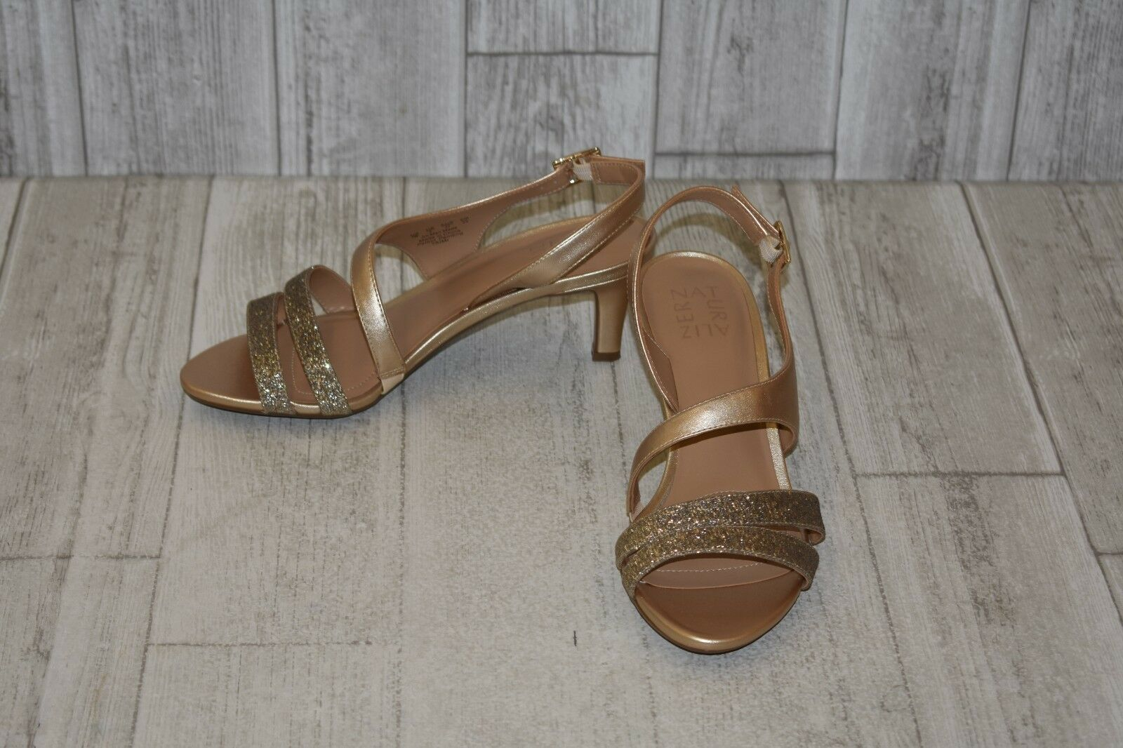 Naturalizer Taimi Heels, Women's Size 7 W, gold