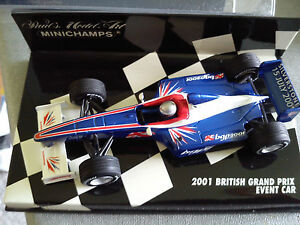 Minichamps-1-43-F1-2001-2001-Grand-Prix-britanico-evento