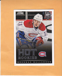 2013-14-SCORE-BRENDAN-GALLAGHER-ROOKIE-624-MONTREAL-CANADIENS