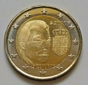 Luxembourg 2010 Armoiries du Grand-Duc pièce de 2 euro commémorative neuve