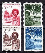 Dutch New Guinea - 1957 Child care - Mi. 45-48  MNH