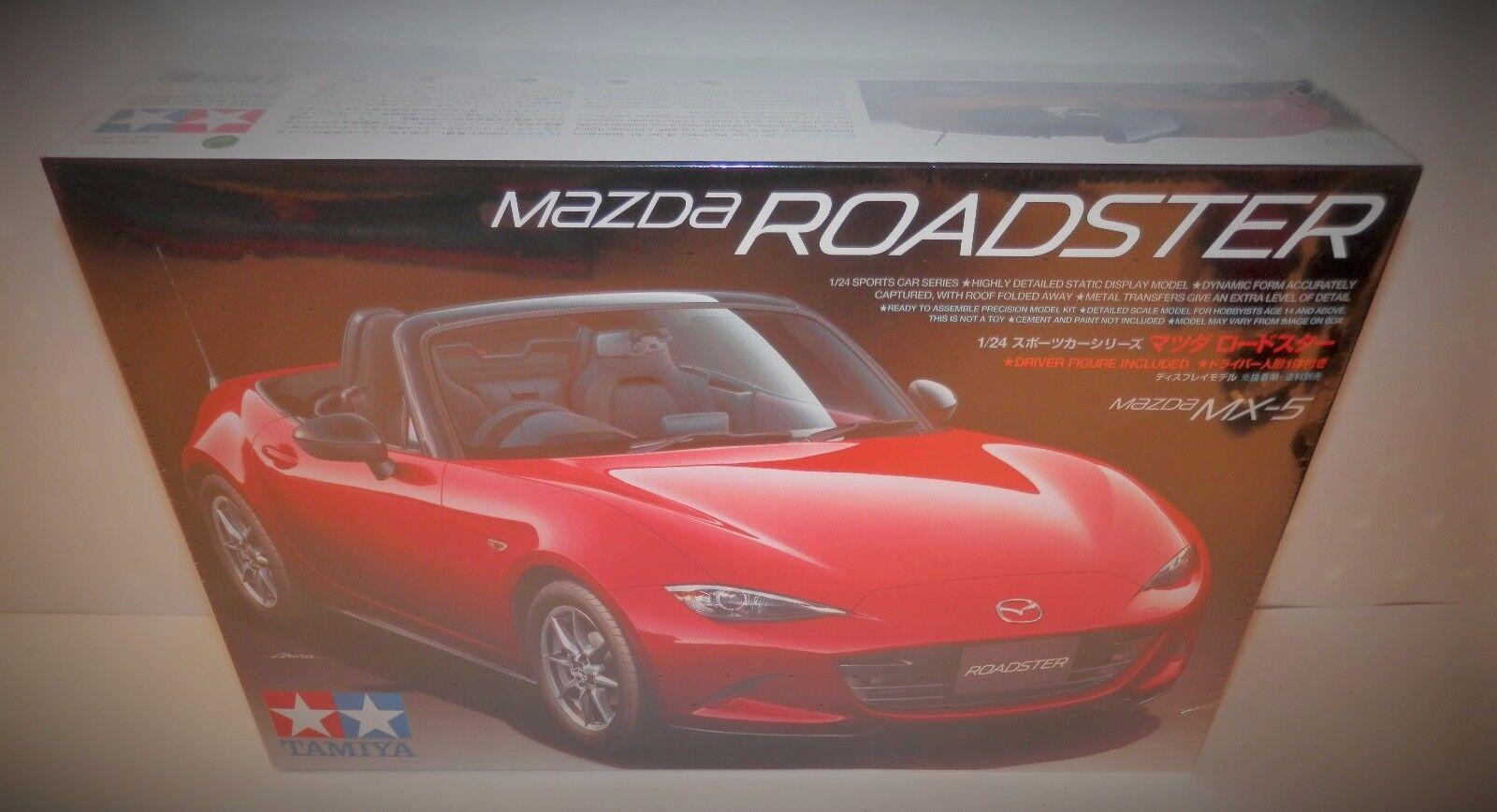 Tamiya 1 24 Mazda MX-5 Roadster NIB