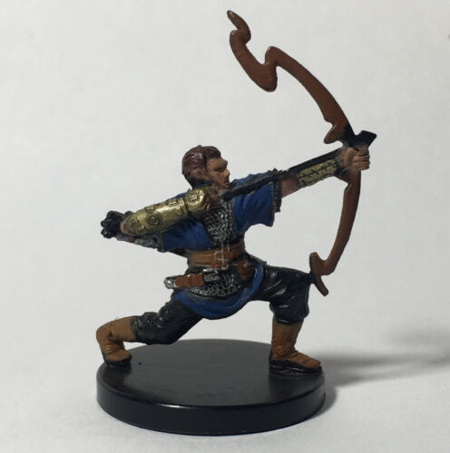 Aberrations #18 Archer Ranger painted D/&D Miniatures Half-Elf Bow Initiate