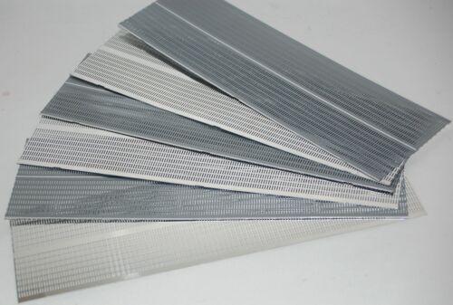 260mm x 80mm Lot of 6 Aluminium Equipment or Speaker Grilles