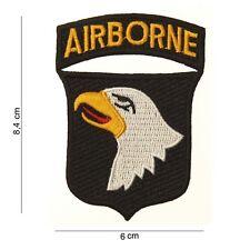 écusson 101e Airborne Patch US ARMY Paratrooper insigne Normandie débarquement