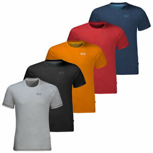 new arrival e392b 805ba Details about Jack Wolfskin Mens 2019 Sky Range Breathable Lightweight  T-Shirt 39% OFF RRP