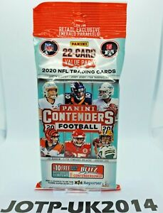 2020 Panini Contenders NFL Football FAT VALUE CELLO Pack *SEALED* - NEW
