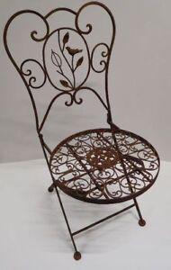 Charmant Das Bild Wird Geladen Gartenstuhl Klappstuhl Metallstuhl Dekostuhl Stuhl  Metall WK070826