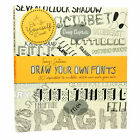 Draw Your Own Fonts: 30 Alphabets to Scribble, Sketch and Make Your Own by Tony Seddon (Paperback, 2013)