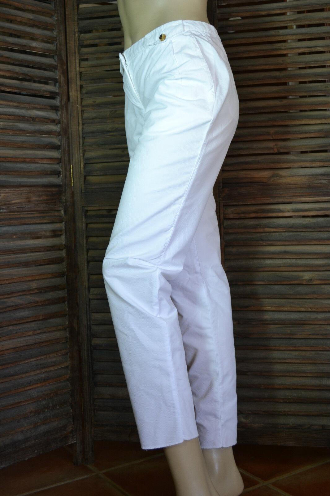 VIKTOR & ROLF Hose weiß trousers pantalon NEU Gr. 42 44 NEW  weiß