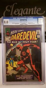 Details about Daredevil 10 1965 Marvel Wally Wood Silver CGC 8 0 1st App of  Ani-Men, Organizer