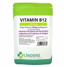 Vitamin B12 1000mcg high potency 1-a-day; 100 tablets Lindens