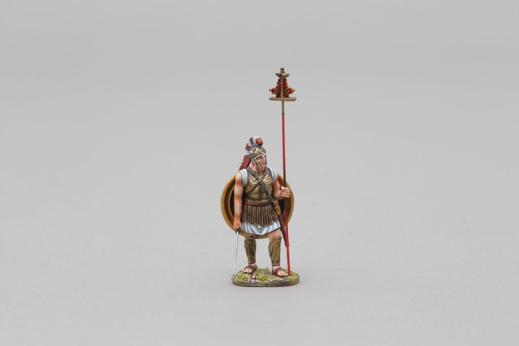 THOMAS GUNN SPA020C - Hoplite Standard Bearer (Icarus) Painted Metal