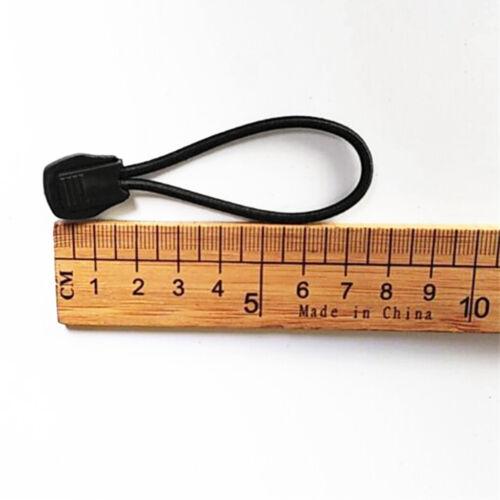 2 Stück Spanngummis mit Stopper Gummischlaufen Spannseil ideal für Schnorchel