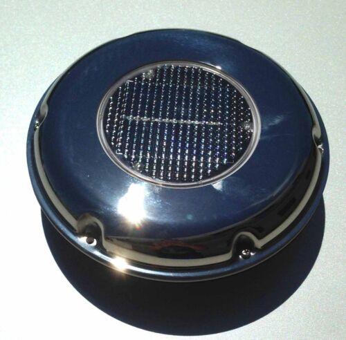 MARINE BOAT RV SOLAR POWERED VENTILATOR RECHARGEABLE EXH /& INT COMBO