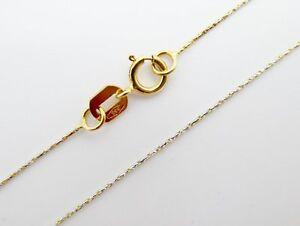 Unendlichkeit Kette Gold Collier mit Zirkonia Russische Rosegold 585