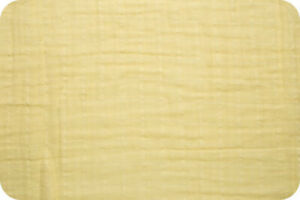 Shannon-Fabrics-Embrace-Double-Gauze-Banana-Solid-by-the-yard-amp-custom-cuts