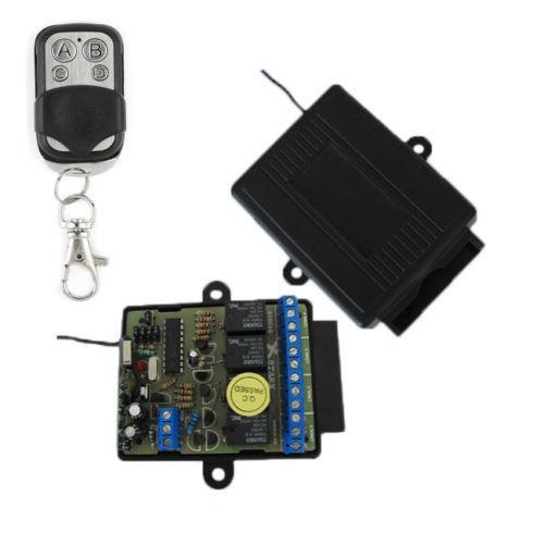 4 emisoras de canal controlador bistabil-monostabil 12-24 V