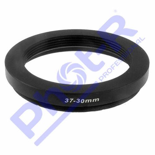Fot-R 37-30mm Metal paso a paso hacia abajo anillo 37mm-30mm Adaptador De Anillo Reductor 37-30
