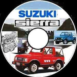 89 Suzuki Sierra Workshop Repair Manual