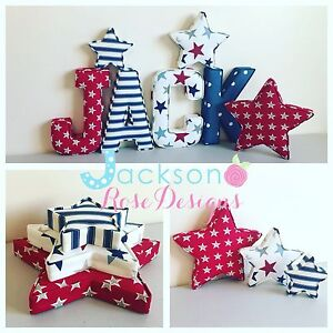 Fabric-letters-Wall-Art-Handmade-Nursery-name-personalised-girl-boy
