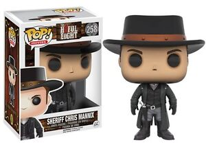 Funko POP - Movies - Film - The Hateful Eight - 258 Sheriff Chris Mannix H8ful