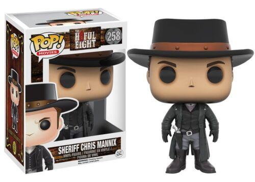 258 Sheriff Chris Mannix H8ful Funko POP Film The Hateful Eight Movies