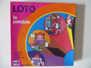 Loto-La-Pendule-Ceji-Cavahel-Vintage