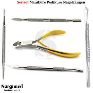 5er-Nail-Nippers-Set-Pedicure-Manicure-Corner-Cuticle-Cutter-Lift-File