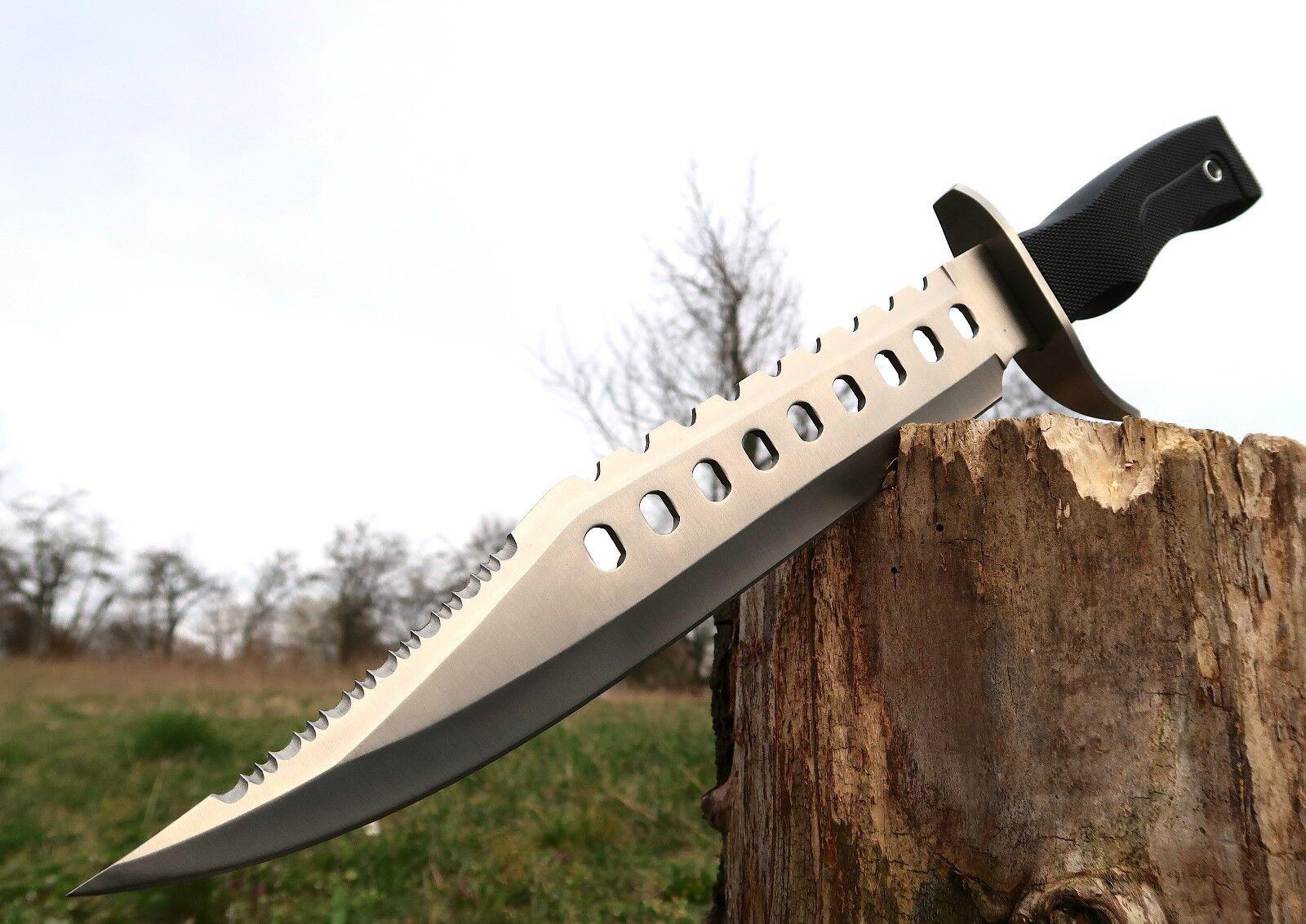 XXL Riesen Jagdmesser 44 cm Messer Knife Buschmesser Machete Coltello Cutit J107