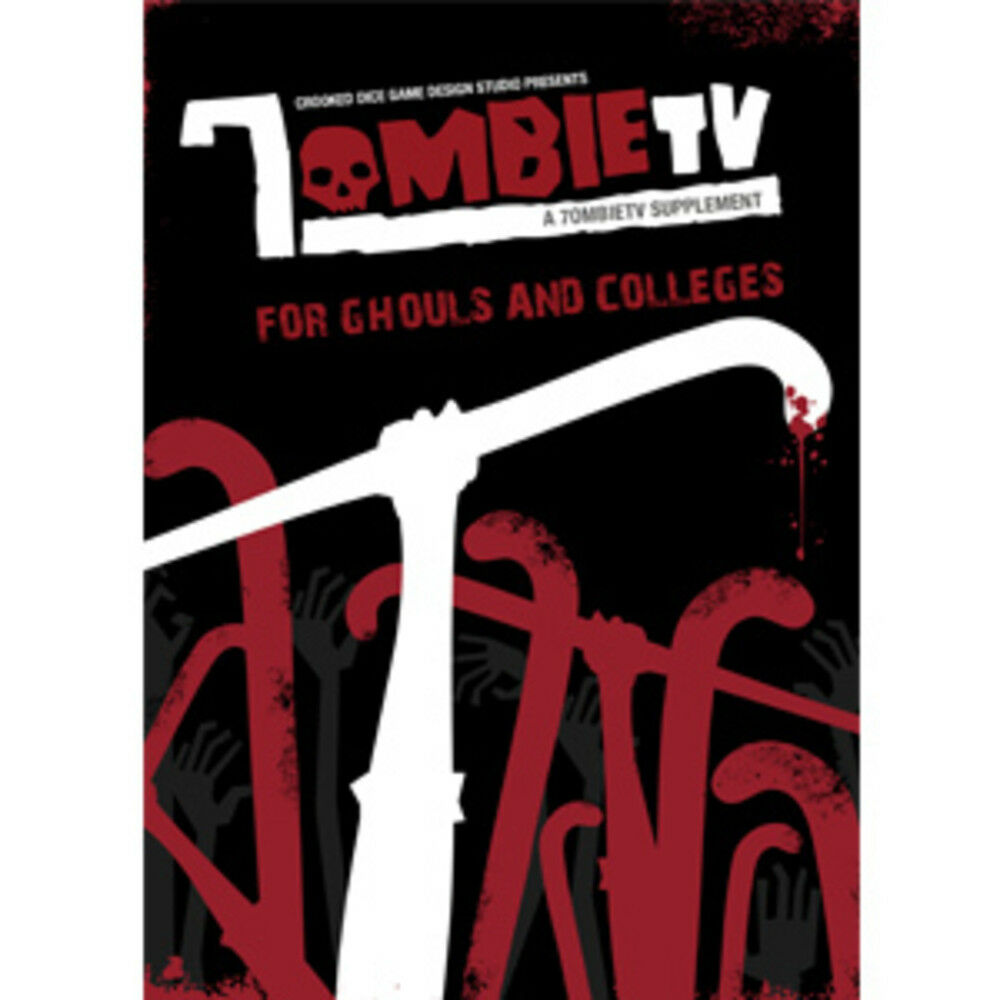 7ombietv para Ghouls And Colleges - un 7ombietv Suplemento - Torcido Dado