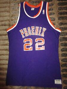 official photos 716c8 82530 Details about Larry Nance #22 Phoenix Suns NBA Sand knit Basketball Game  Jersey