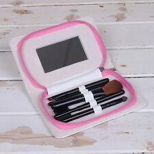 Jakki Doodles Quickie Fix Make Up Brushes Case Mirror Handbag Christmas Gift
