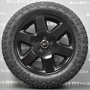 Genuine-Land-Rover-Discovery-4-3-19-in-environ-48-26-cm-Hse-Noir-ROUES-EN-ALLIAGE-GOODYEAR-Wrangler