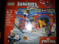 Lego Juniors Spider-man Hideout 10687 |brand Factory Sealed